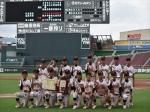 広島県少年野球選手権大会 準優勝
